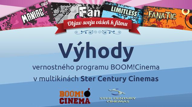 Boom!Cinema - Výhody