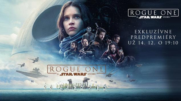 Predpremiéra Rogue One: A Star Wars Story