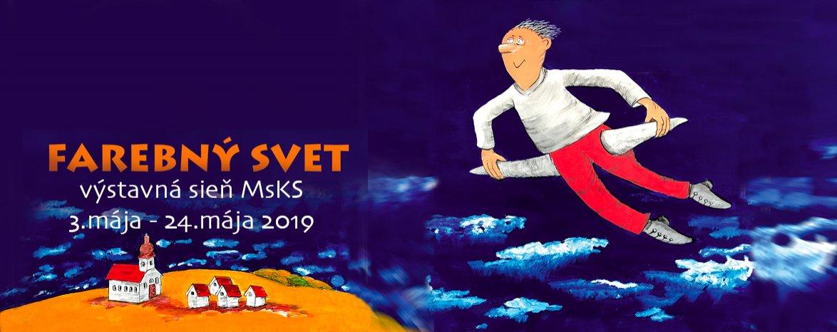 3.5. - 24.5. 2019 Vladimír Pavlík - obrázky a kresby