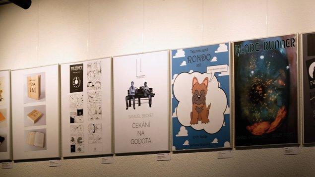 Výstava výtvarných prací grafiků a fotografů školy