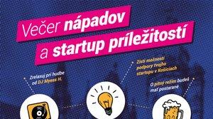 Večer nápadov a startup príležitostí