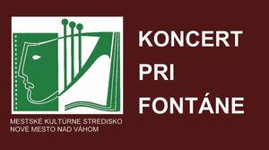 17.8.2019 KONCERT PRI FONTÁNE