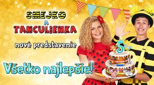 6.2.2020 SMEJKO A TANCULIENKA: Všetko najlepšie!
