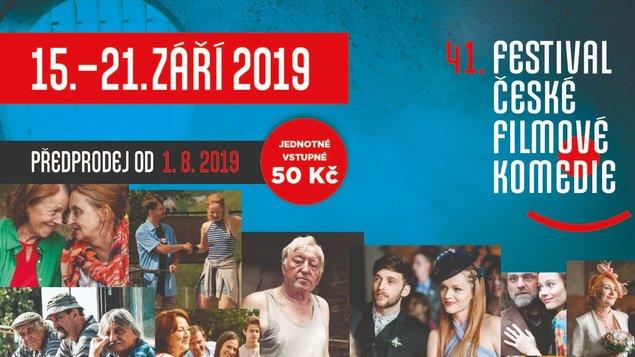 41. festival české filmové komedie - spuštění předprodeje 1. 8.