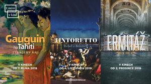 Podzimní Umění v kině zahájí 15. října Gauguin