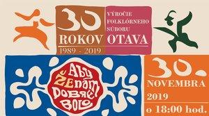 30.11.2019 OTAVA 30. výročie