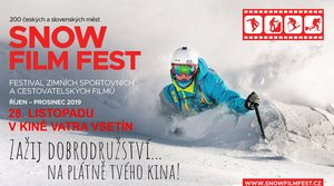 Snow Film Fest a zimní outdoorové dokumenty 28. listopadu