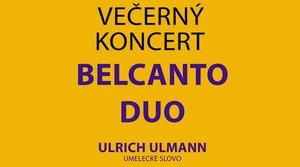 12.12.2019 Večerný koncert Belcanto Duo
