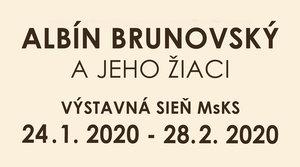 24.1. - 28.2. 2020 ALBÍN BRUNOVSKÝ