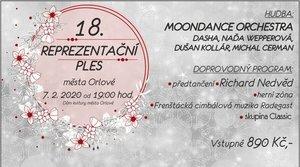 Reprezentační ples města Orlové 2020