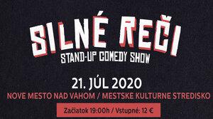SILNÉ REČI STAND-UP COMEDY 21.7.2020