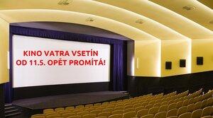 Kino Vatra obnovilo provoz!