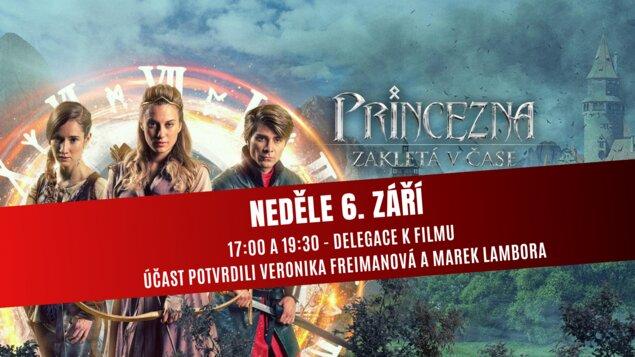 Princezna zakletá v čase s Veronikou Freimanovou a Markem Lamborou