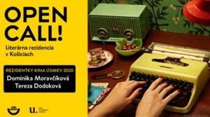 Open Call 2020 – Literatúra a Film: literárna rezidencia  -> VÝSLEDKY