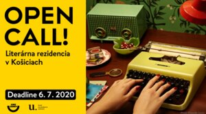 Open Call 2020 – Literatúra a Film: literárna rezidencia