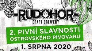 1. srpna 2020 poteče pivo RUDOHOR proudem!