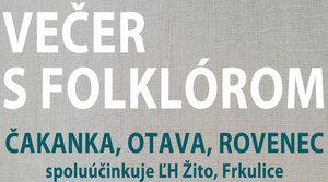 VEČER S FOLKLÓROM 26.9.2020