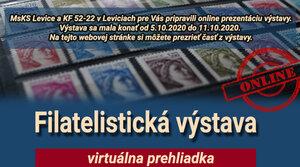 Virtuálna prehliadka Filatelistickej výstavy