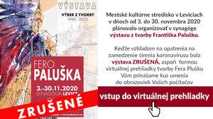 Virtuálna prehliadka výstavy Fera Palušku