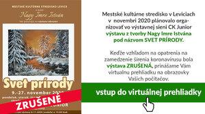 Virtuálna prehliadka výstavy Nagy Imre Istvána