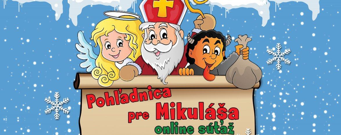 Pohľadnica pre Mikuláša - online súťaž