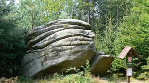 Devil´s Stone on Melechov Hill