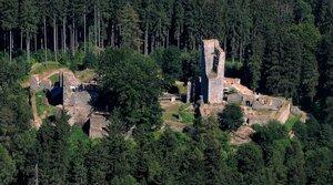 Ruins of Orlik Castle