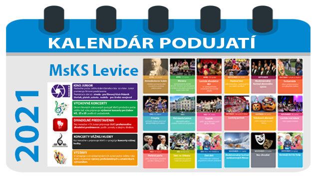 Kalendár podujatí na rok 2021