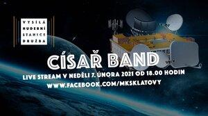Císař band (live) - Vysílá hudební stanice Družba