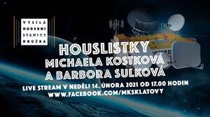 Michaela Kostková a Barbora Sulková (live) - Vysílá hudební stanice Družba
