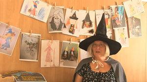 Čarodějnické čtení k výtvarné soutěži