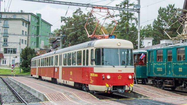 Tatranská električka - Zážitkové jazdy historickými električkami