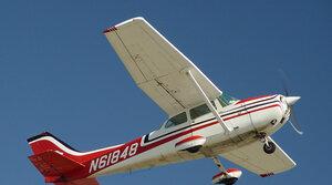 Slet letadel a vyhlídkové lety