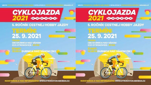 Cyklojízda 2021: Dubnica nad Váhom --> Otrokovice
