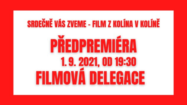 Atlas ptáků v kině s delegací - film z Kolína v Kolíně