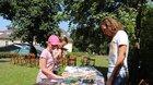 Otváranie knižných búdok, knižný swap a Archívny chlapec (24.7.2021, foto: Veronika Rezáková)