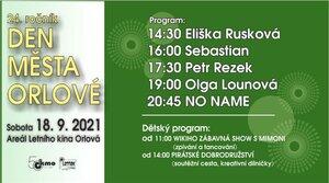 Den města Orlové 2021