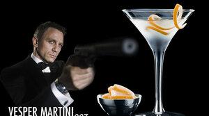 Buďte Bondem a máte Vesper Martini ZDARMA