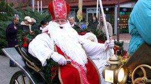 Mikuláš v meste Levice