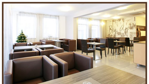 Hotel Dastan - kaviareň