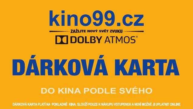 DÁRKOVÁ KARTA DO KINA