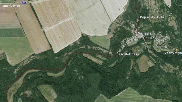 Náučný chodník v Horšianskej doline