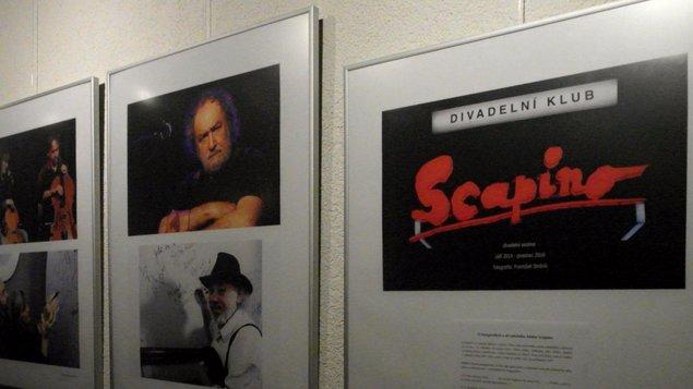 František Stráník - O fotografiích z divadelního klubu Scapino