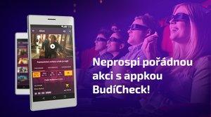 Checkuj program svého kina v bezplatné aplikaci BudíCheck