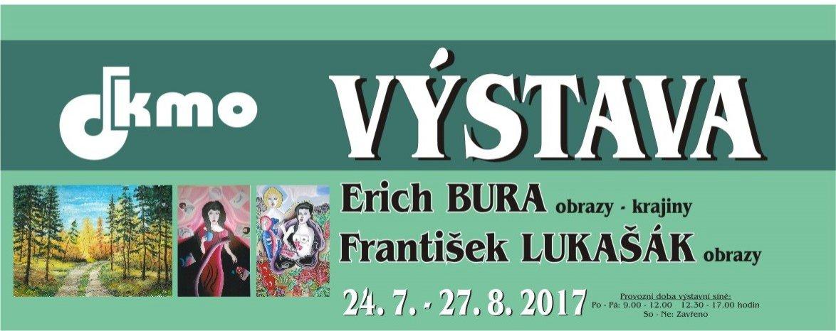 Výstava Erich Bura a František Lukašák