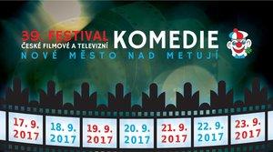 39. Festival české filmové a televizní komedie Nové Město nad Metují