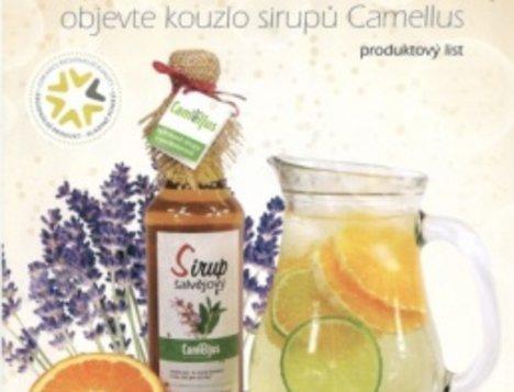Přírodní bylinné sirupy CAMELLUS