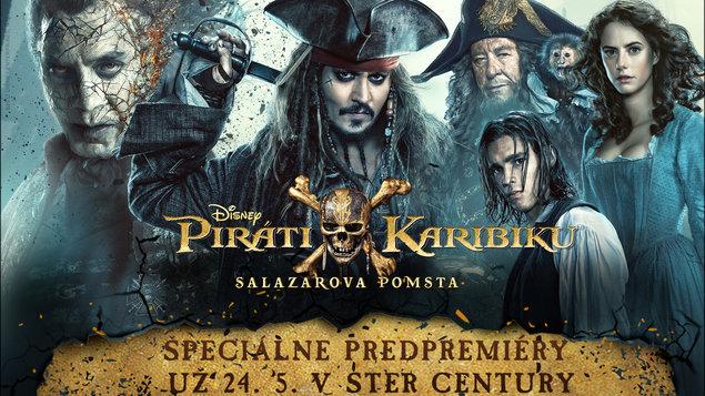 Piráti Karibiku: Salazarova pomsta - predpremiéra