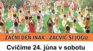 24. 6. Cvičenie jógy v parku