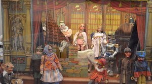 Rodinné loutkové divadlo